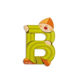 "Lettre alphabet clown ""B"" - JANOD"