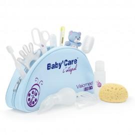 Trousse de toilette bébé BABYCARE de Visiomed Baby + 10 accessoires