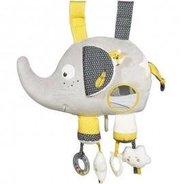 Jouet d'éveil musical et lumineux éléphant Babyfan Sauthon