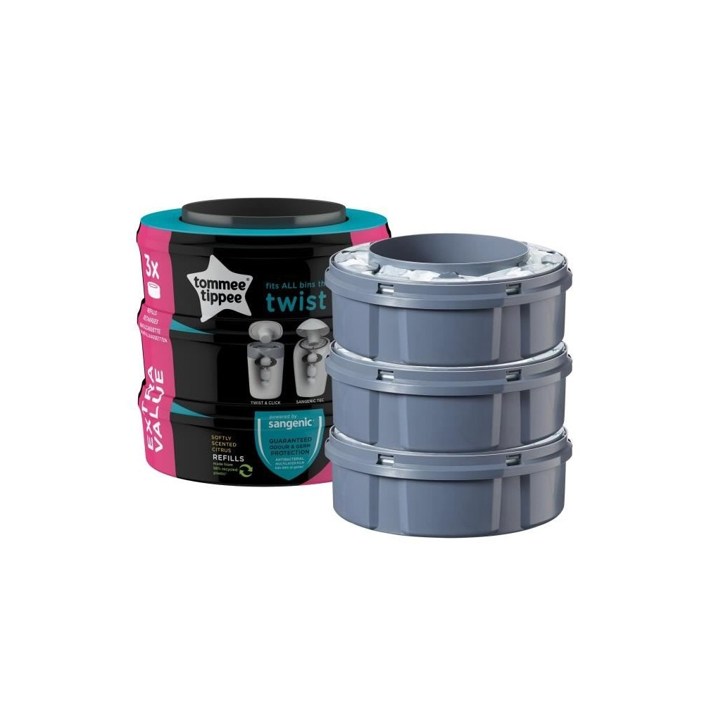Recharges multipack x3 Sangenic TOMMEE TIPPEE