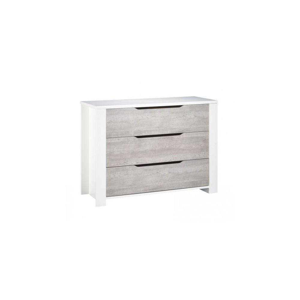 Commode 3 tiroirs Loft Sauthon
