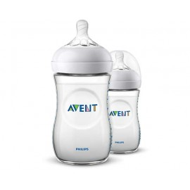 Biberon Natural 260 ml AVENT (x2)
