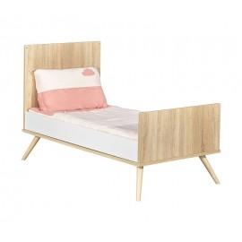 Lit Little big bed 140x70 Seventies SAUTHON