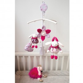 Mobile musical Cerise Doudou & Compagnie