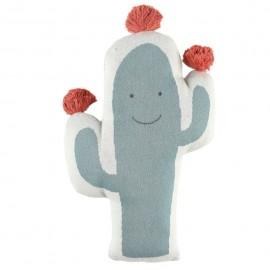 Coussin Cactus jaquard Bio Noukies