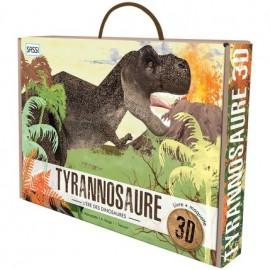 Maquette 3D le Tyrannosaure SASSI