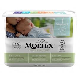 Couches Newborn 2-4kg MOLTEX (x28)