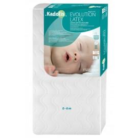 Matelas 60x120 cm Evolution Latex - KADOLIS