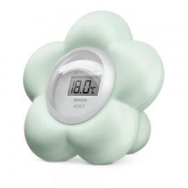 Thermomètre de bain et chambre bleu Avent