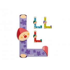 "Lettre alphabet clown ""L"" - JANOD"