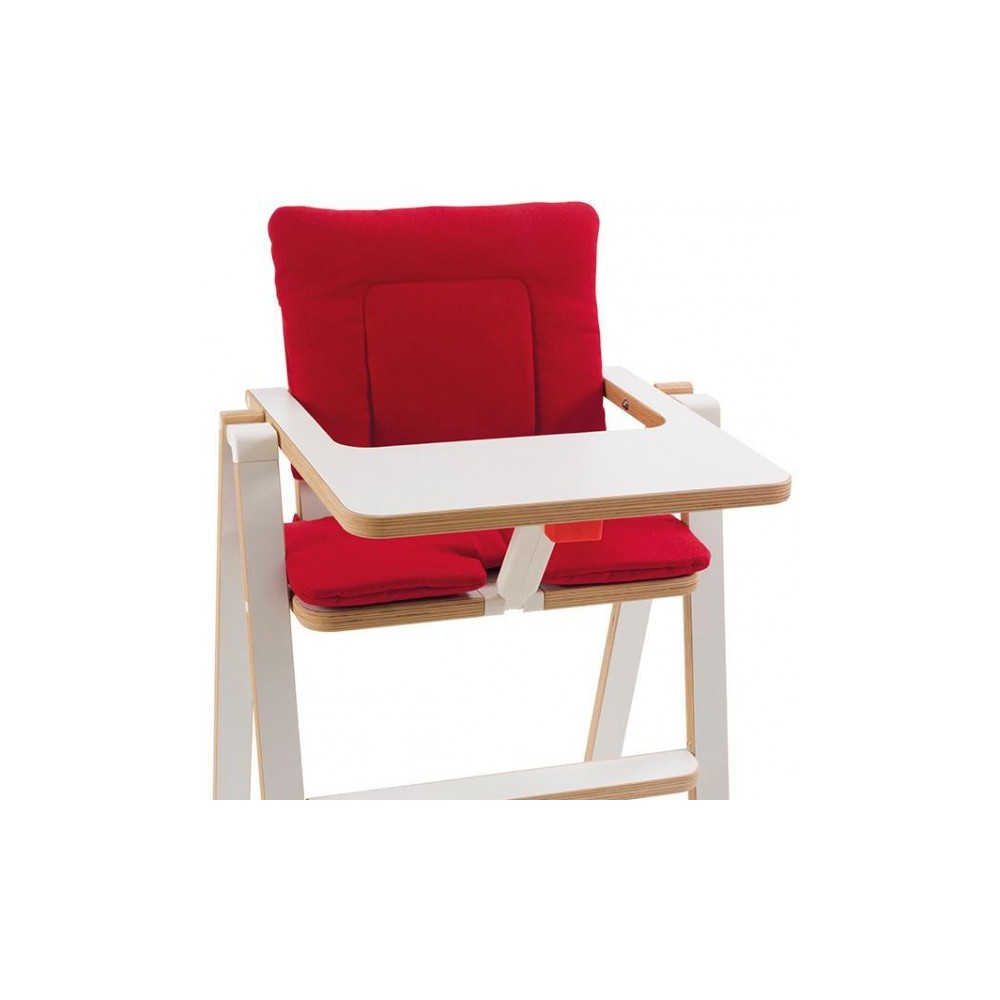 Coussin Chaise Rouge Supaflat