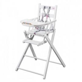 Chaise extra-pliante laqué blanc COMBELLE