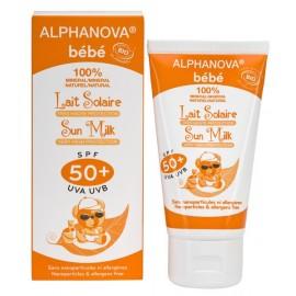 Lait solaire bébé Bio SPF 50+ Alphanova