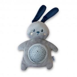 Veilleuse Projecteur musical d'étoiles Mimi Bunny Pabobo