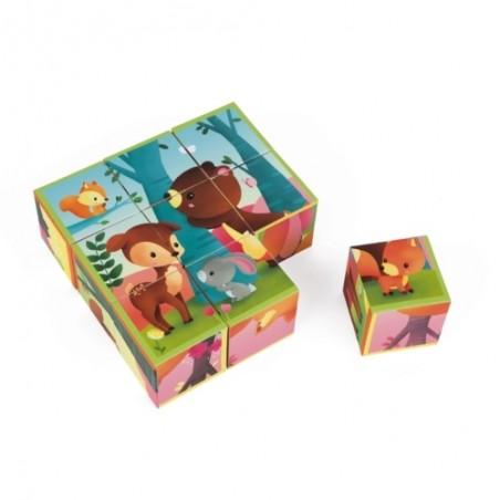 Kubkid - 9 cubes Janod